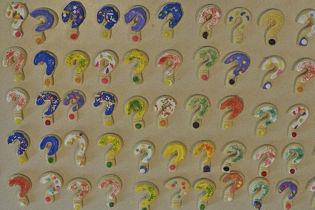 question mark cookoes